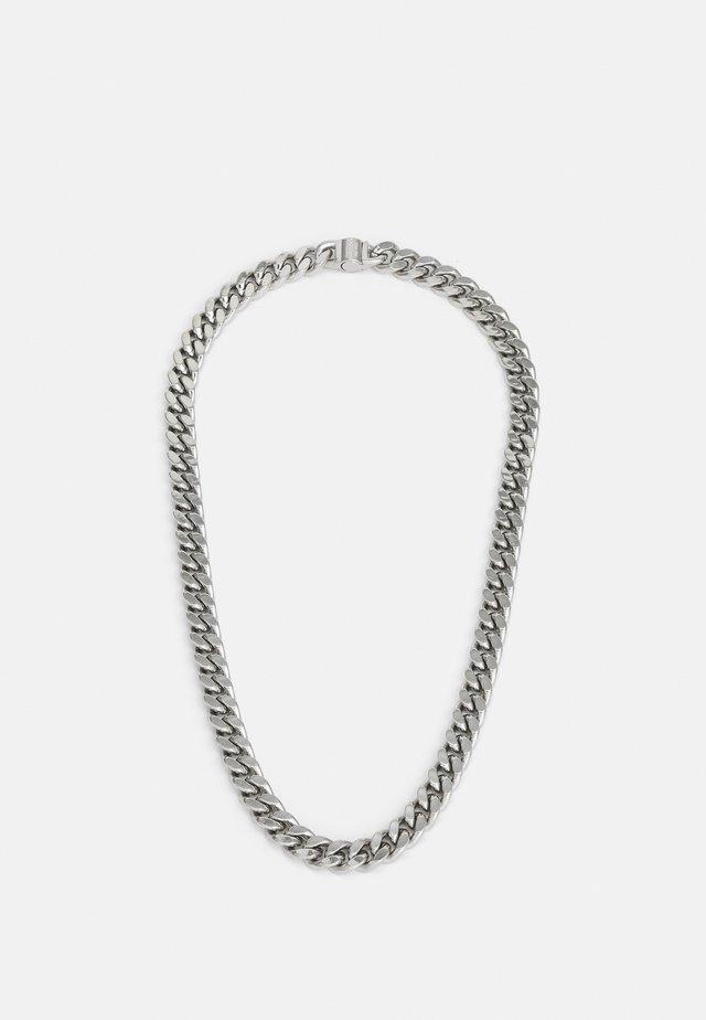 CURB UNISEX - Náhrdelník - silver-colured
