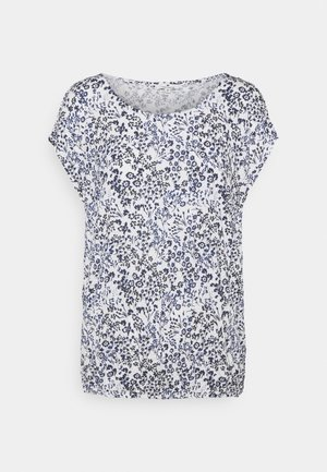 CRINCLE - Camiseta estampada - offwhite