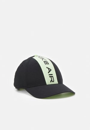 AIR UNISEX - Cap - black/liquid lime