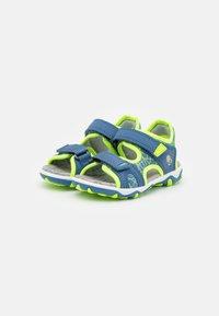 Superfit - MIKE 3.0 - Walking sandals - blau/gelb - 1
