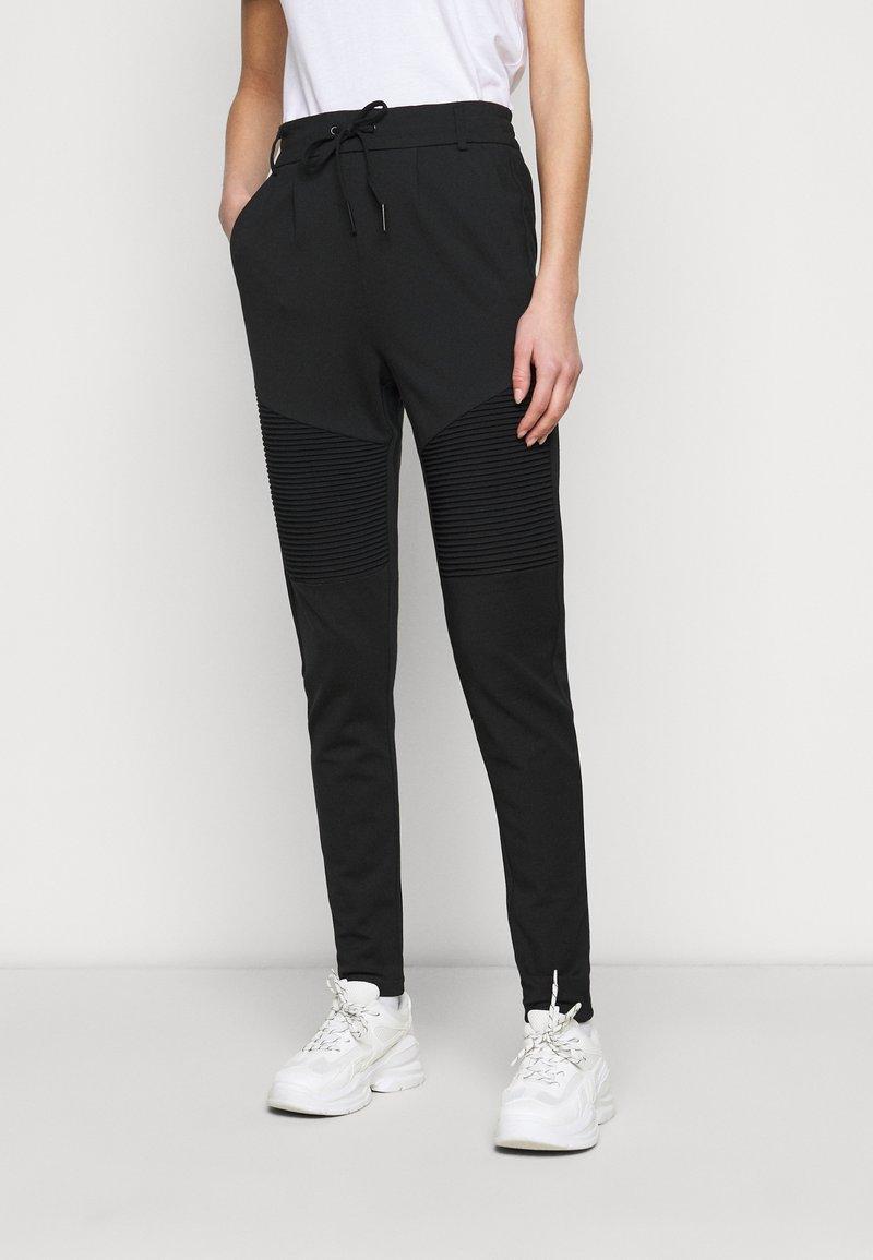 ONLY Tall - ONLPOPTRASH EASY BIKER PANT - Joggebukse - black