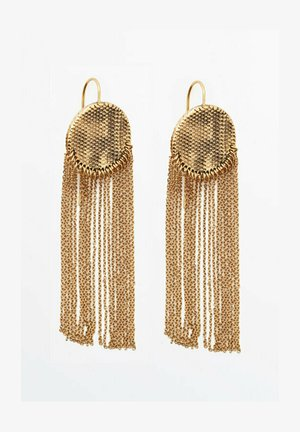 MIT KOMBINIERTEN QUASTEN  - Earrings - gold