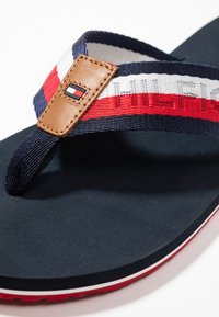 Tommy Hilfiger - CORPORATE BEACH - T-bar sandals - blue - 6