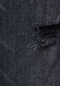 PULL&BEAR - Skinny džíny - mottled black - 6