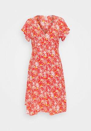 OBJBARB AYA SHORT DRESS - Day dress - poinciana