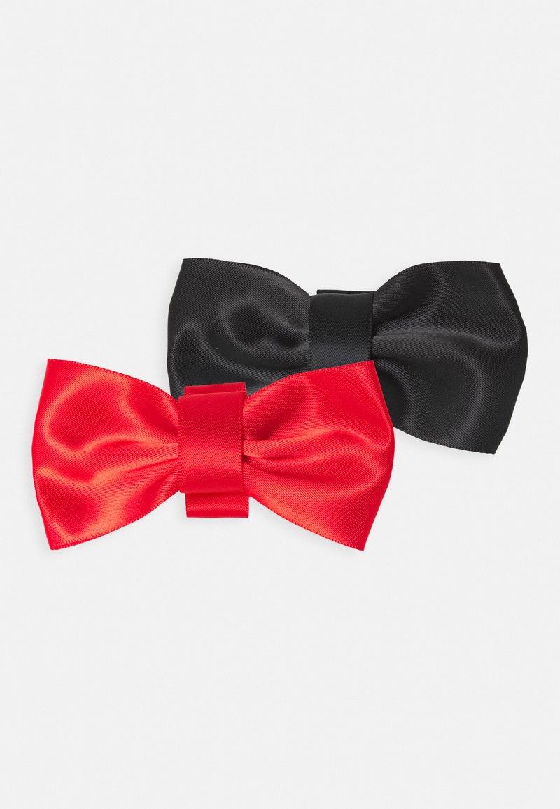 MAGIC Bodyfashion - BRA EXTENDER PRETTY BACK BOW 2 PACK - Annet - black/red