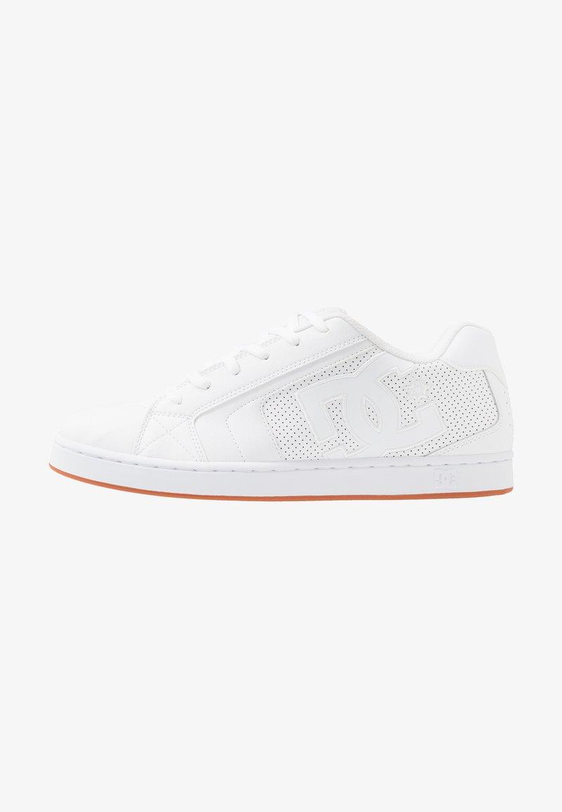 DC Shoes - NET UNISEX - Obuwie deskorolkowe - white