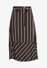 Marc O'Polo - SKIRT FEMININE SILHOUTTE  - A-line skirt - multi/ night sky - 3