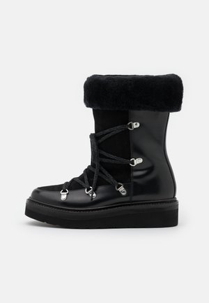 CAMILLE - Bottes de neige - black