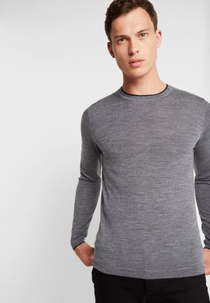 Pullover - granite marl