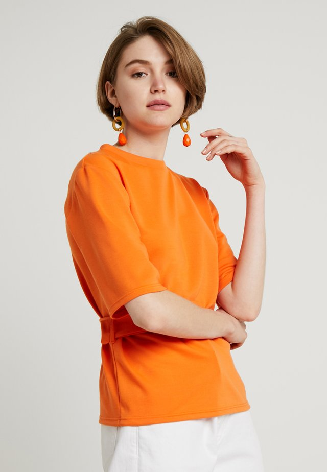 Printtipaita - orange