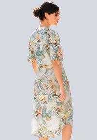 Alba Moda - Day dress - creme-weiß,lindgrün,grau - 2