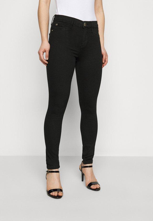 PETITE MOLLY BLACK - Jeans Skinny Fit - black