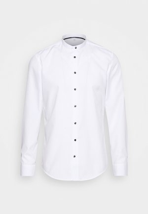 MANDARIN TAPE SLIM FIT - Camicia - white