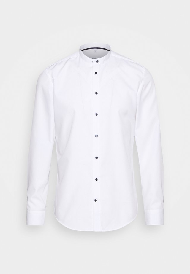 MANDARIN TAPE SLIM FIT - Chemise - white