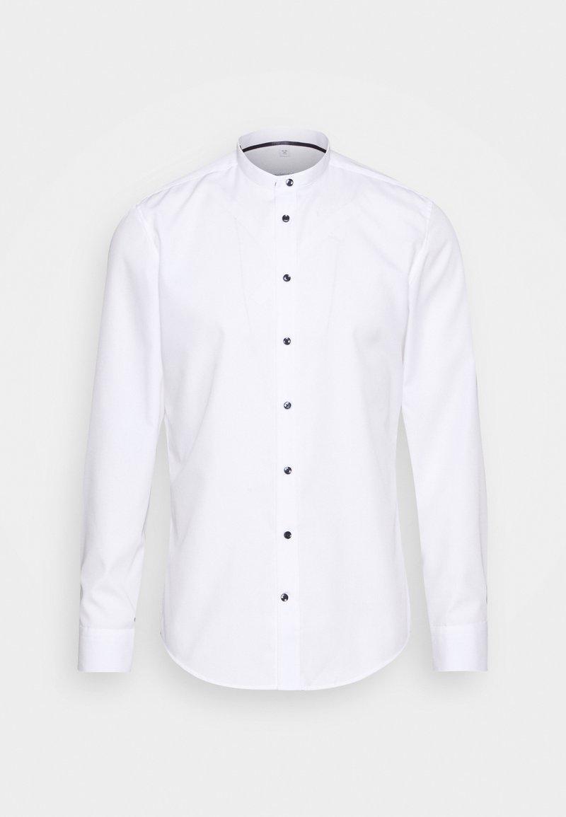 Seidensticker - MANDARIN TAPE SLIM FIT - Shirt - white