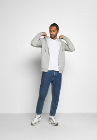 Only & Sons - ONSCERES LIFE  - Sudadera con cremallera - light grey - 1