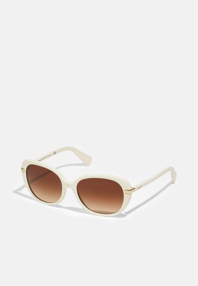 Sunglasses - shiny nude creamy