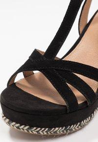 UGG - MELISSA - Højhælede sandaletter / Højhælede sandaler - black - 2