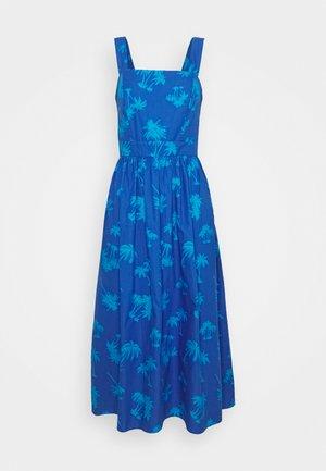 PALM DRESS - Sukienka letnia - blue