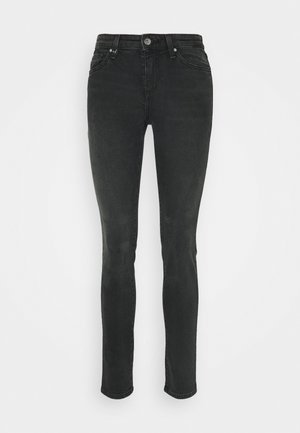 5 POCKETS PANT - Džíny Slim Fit - black denim