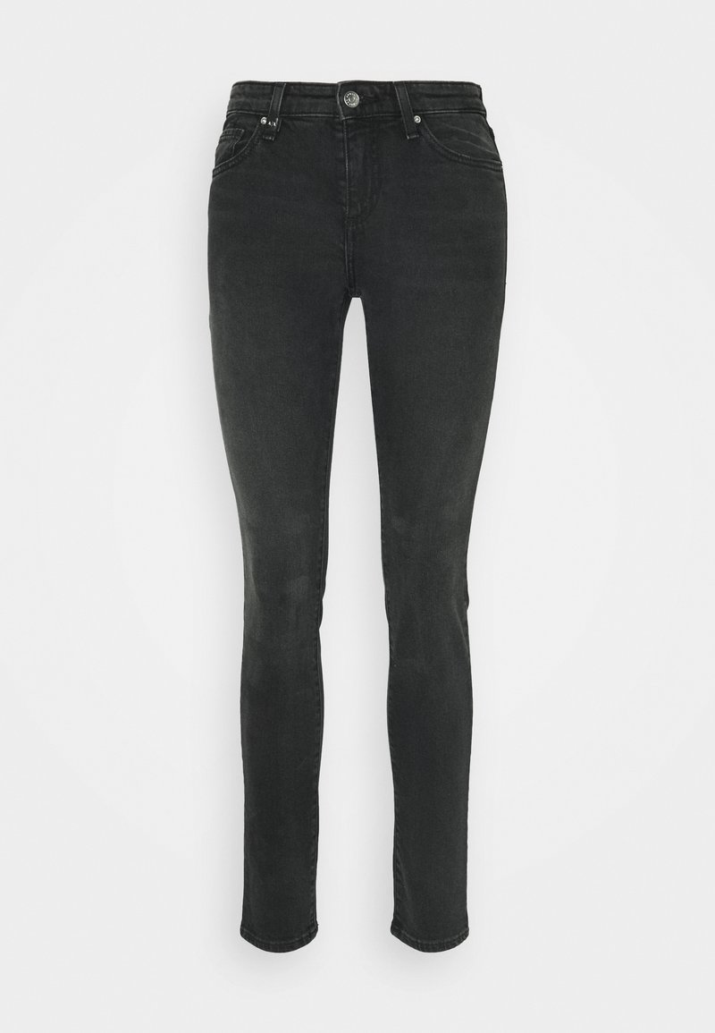 Armani Exchange - 5 POCKETS PANT - Slim fit jeans - black denim