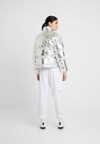 Napapijri - ART METALLIC - Zimní bunda - silver - 2