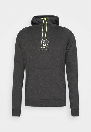 ATLETICO MADRID HOOD - Club wear - black heather/volt