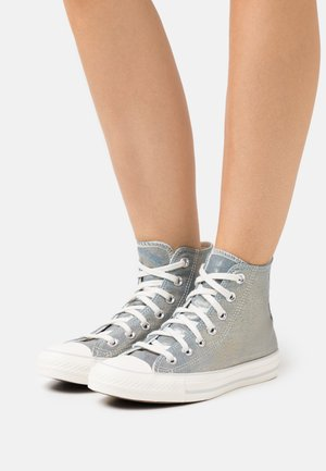 CHUCK TAYLOR ALL STAR - High-top trainers - washed denim/egret/light gold