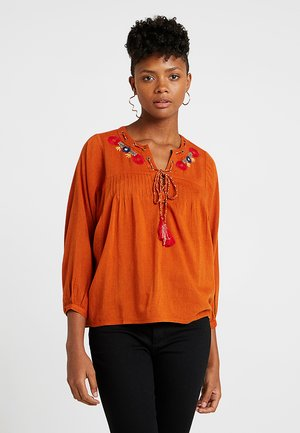 FACE - Blouse - amber