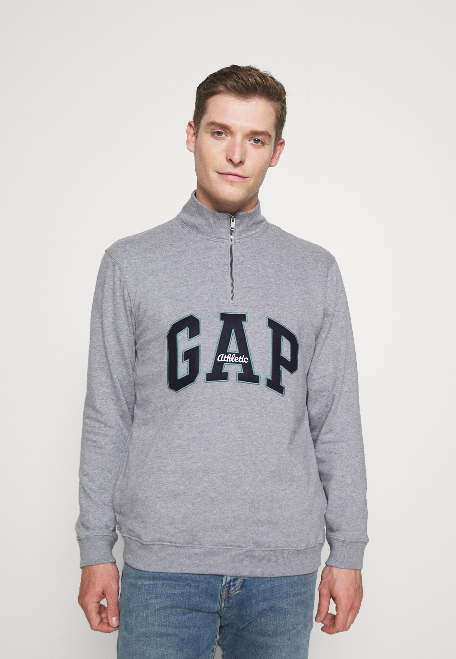 Herren LOGO MOCK - Sweatshirt