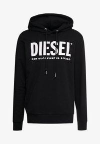 Diesel - HOOD DIVISION LOGO - Hoodie - black - 3