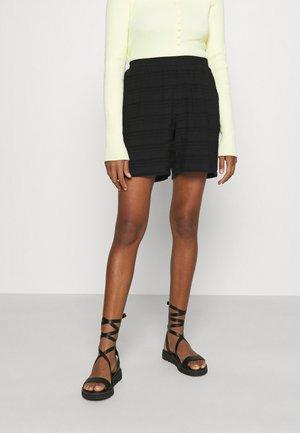 OBJRAFIA - Shorts - black