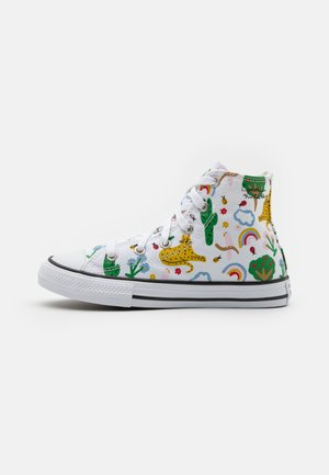 CHUCK TAYLOR ALL STAR UNISEX - Korkeavartiset tennarit - white/multicolor/black