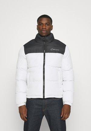 CONTRAST JACKET - Zimní bunda - white