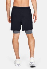 Under Armour - 2-IN-1 - Sports shorts - off-white/grey - 2