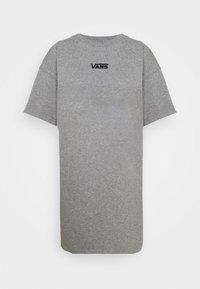 Vans - CENTER VEE TEE  - Jersey dress - grey heather - 4