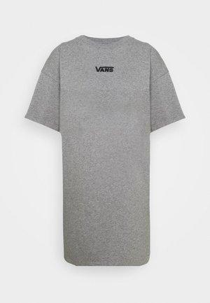 CENTER VEE TEE  - Trikoomekko - grey heather