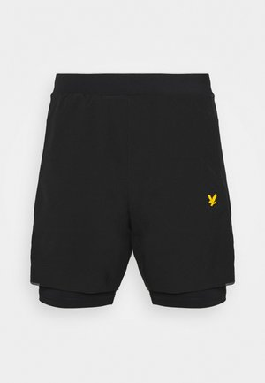 SHORTS - Träningsshorts - true black