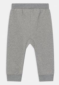 Sense Organics - MATTI BABY UNISEX - Trousers - grey melange - 1