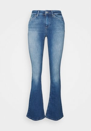 ONLBLUSH  - Flared jeans - medium blue denim