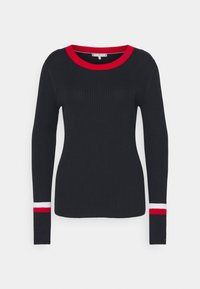 Tommy Hilfiger - WARM GLOBAL STRIPE - Jumper - desert sky - 4