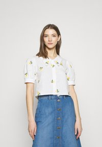Trendyol - Button-down blouse - white - 0