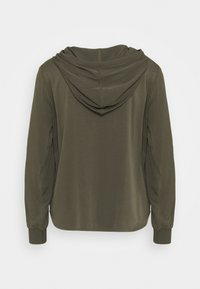 Marc O'Polo DENIM - BLOUSE HOODED - Hoodie - utility olive - 1