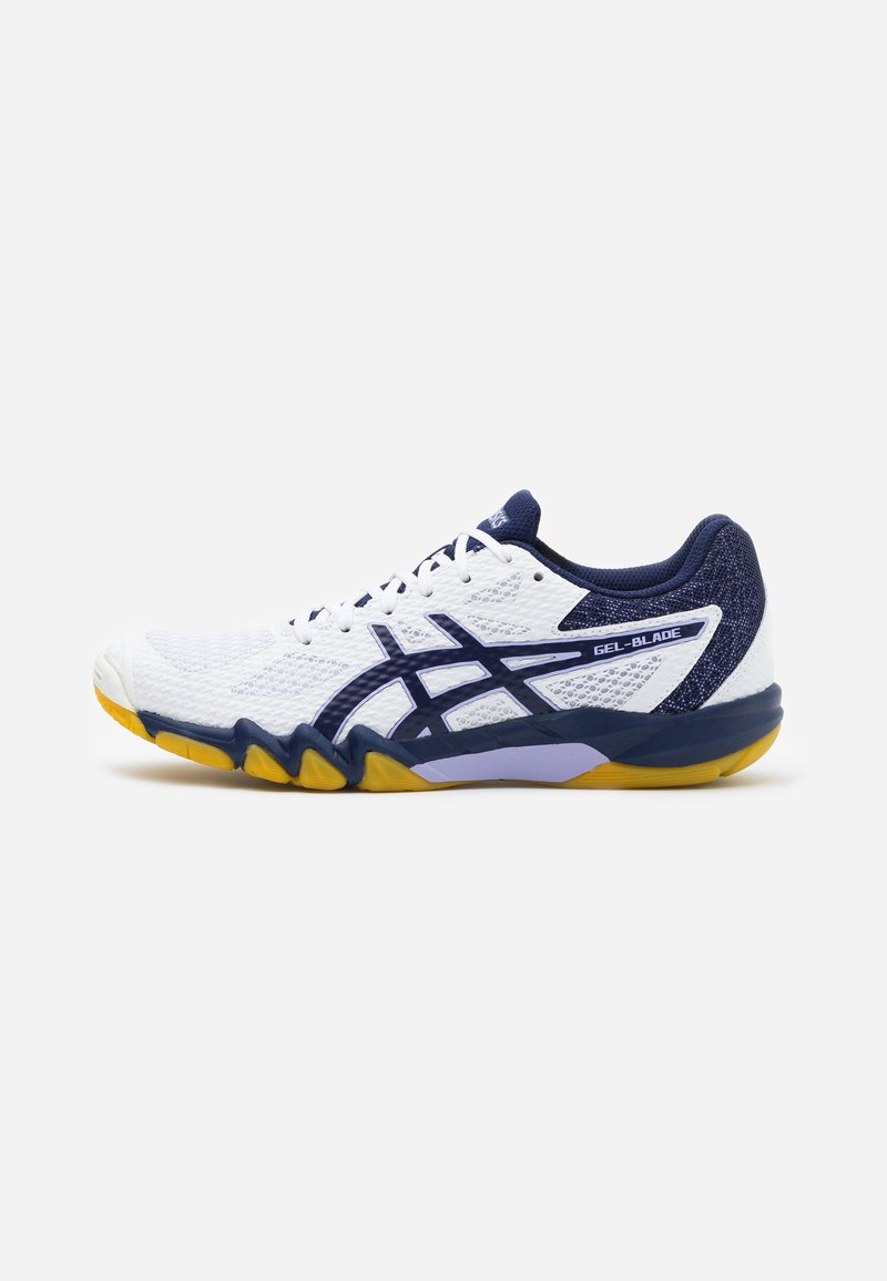 ASICS - GEL BLADE 7 - Volleyball shoes - white/peacoat