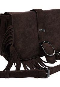 IZIA - Across body bag - dunkelbraun - 5
