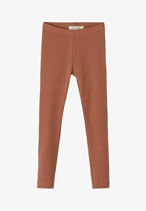 LEGGINGS BAUMWOLLE - Legging - carob brown