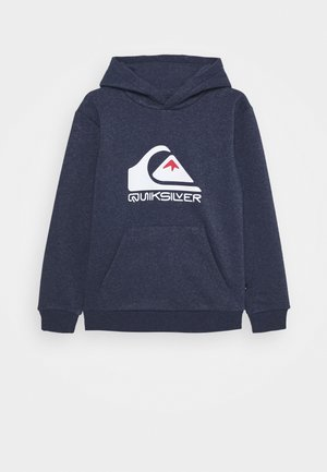 BIG LOGO HOOD YOUTH - Bluza z kapturem - parisian night heather