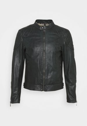 OUTLAW 2.0 JACKET - Leather jacket - pine