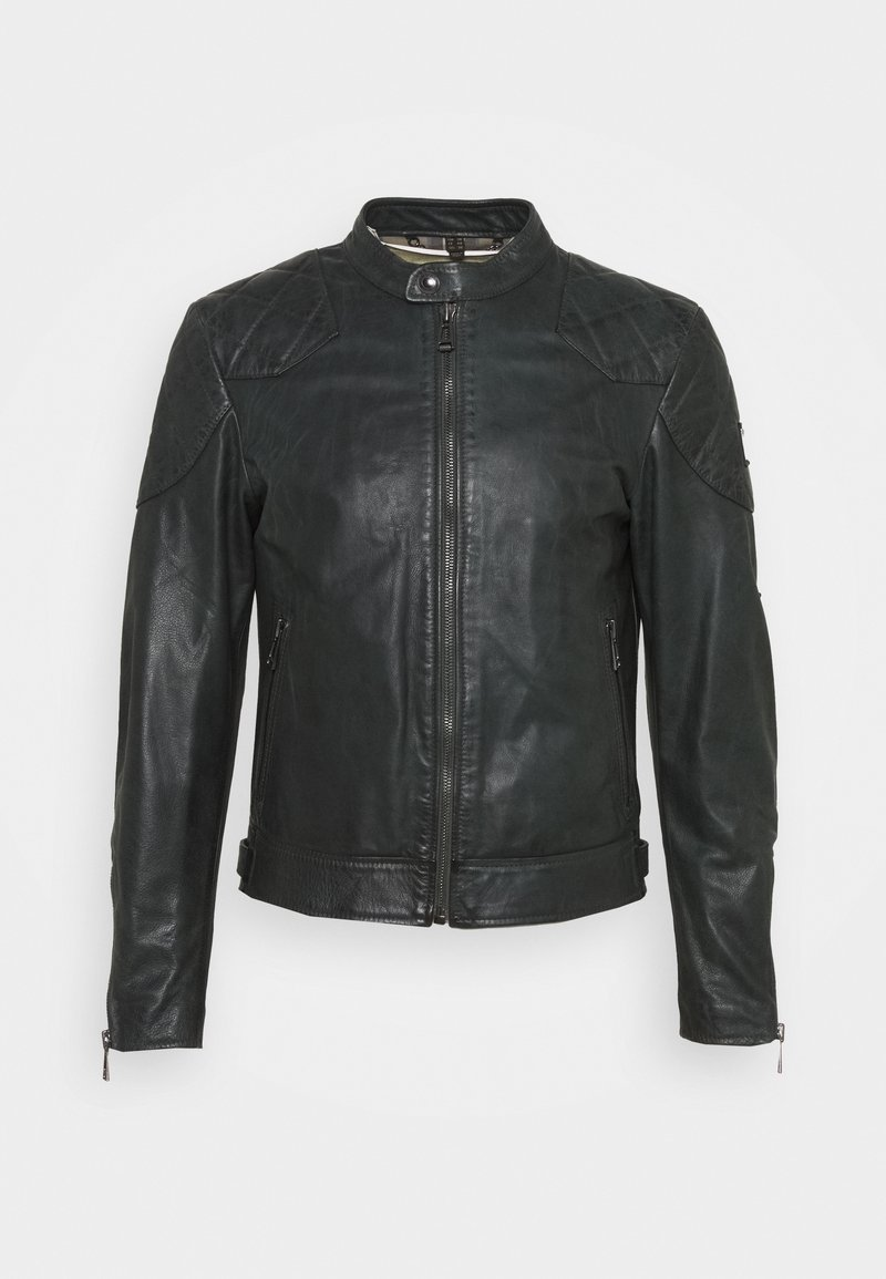 Belstaff - OUTLAW 2.0 JACKET - Leather jacket - pine